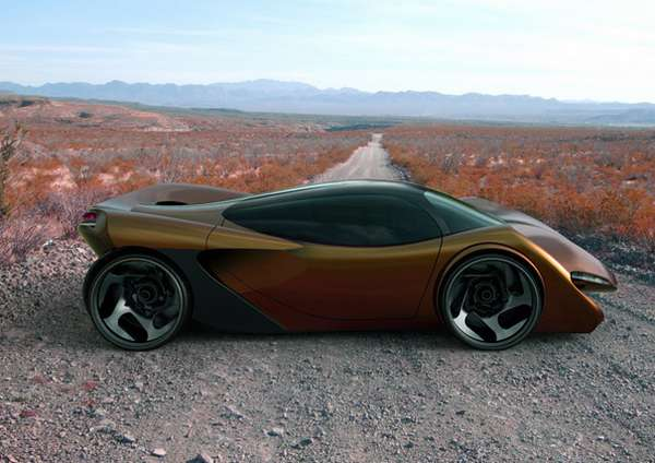Electrifying Supercar Concepts
