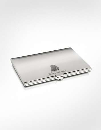 Lamborghini Silver Collection Card Holder