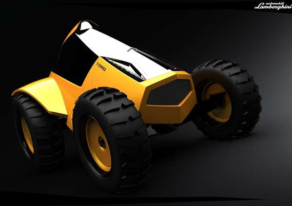 Supercar Tractors The Lamborghini Toro Brings Badass To