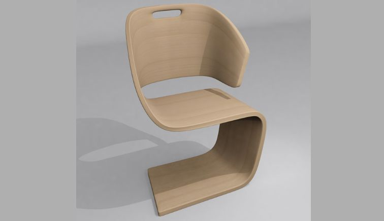 Sinuous Asymmetrical Seating