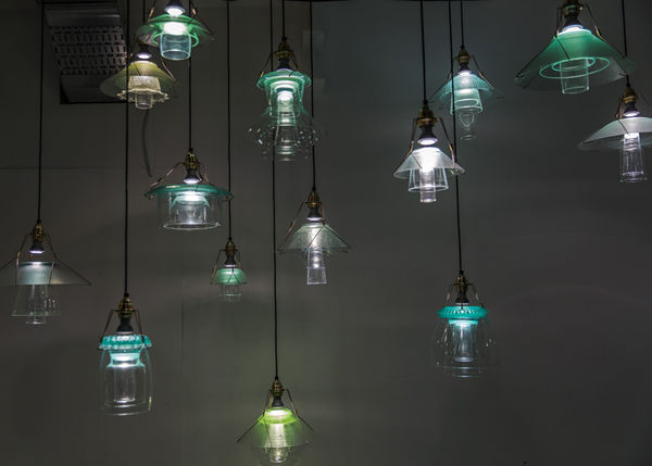 Recycled Stacked Lighting