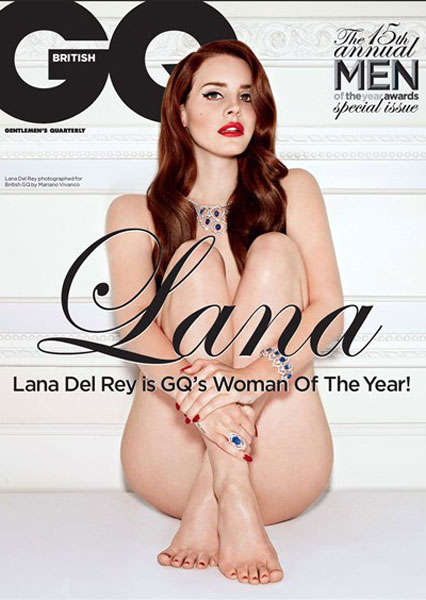 Lana Del Rey GQ UK October 2012