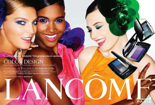Color-Popping Palette Campaigns