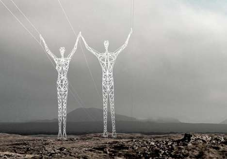 Artful Transmission Towers