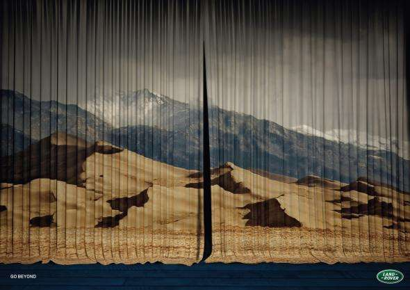 Land Rover Curtain