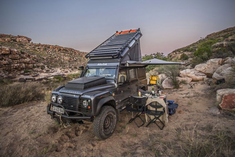 Luxury Off Road Vehicles Land Rover Defender Icarus