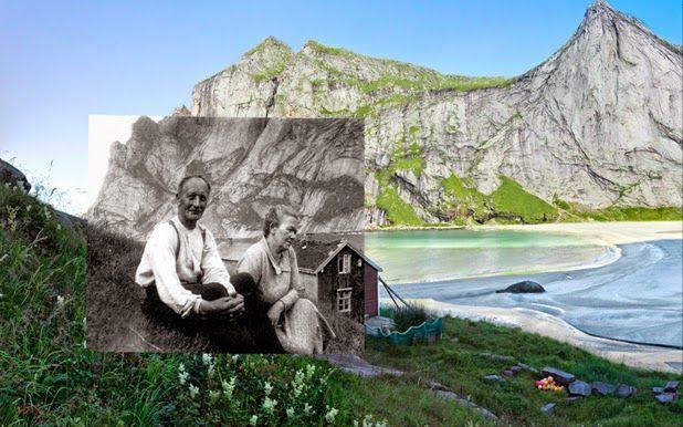 Retro-Modern Landscape Portraits