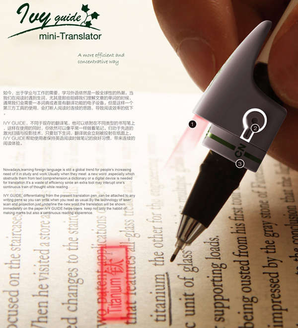 Multilingual Pen Accessories