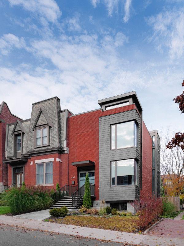 Asymmetric Historical Homes