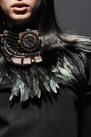 Feathered Tribal Fashion