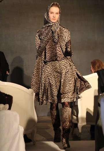 Feline-Print Fashion