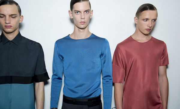 Color-Blocked Androgynous Collections