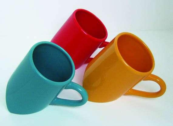 Lazy Leaning Mugs