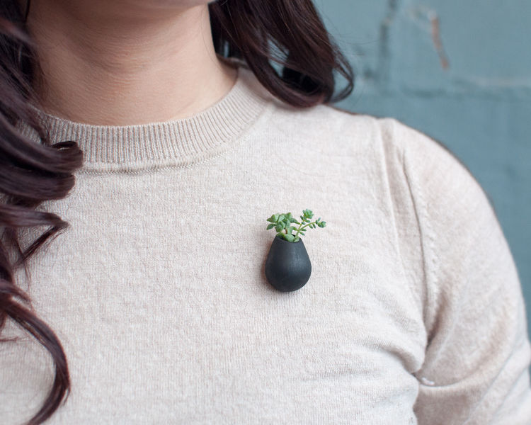 Wearable Planter Pins