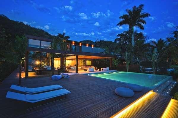 Forested Brazilian Villas Laranjeiras Residence