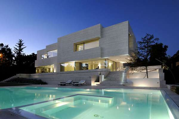 Monolithic Modern Mansions