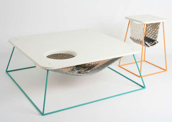 Material-Juxtaposed Furniture