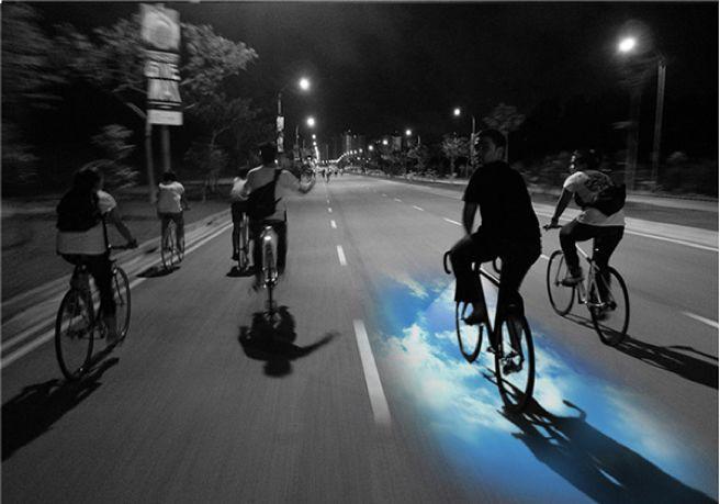 Transfixing Laser Bike Lights
