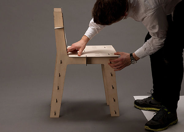 Plywood Puzzle Perches