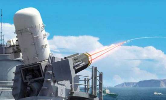 Laser Close-In Weapon System