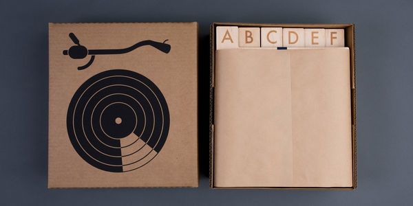 Laser Cut A-Z Record Dividers