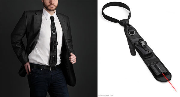 Laser-Guided Neckties