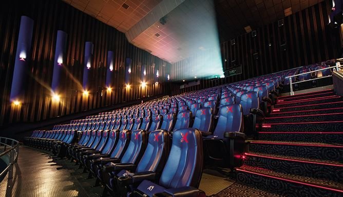 Laser Projection Theaters