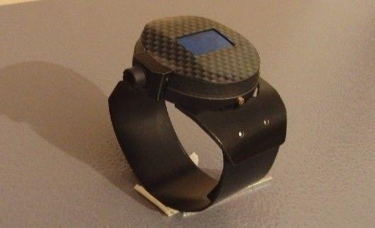 Laser-Emitting Watches