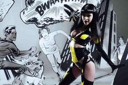 Latex-Clad Superheroines