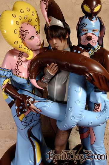 Latex Octopus-Puppies