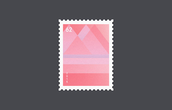 Minimalist Geometric Stamps