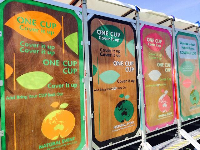 Composting Festival Latrines