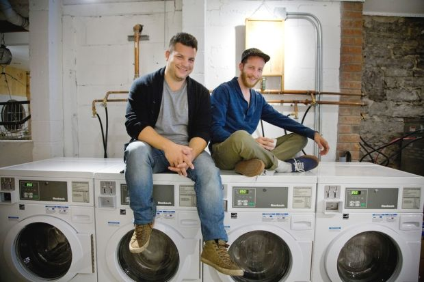 Hybrid Laundromat Cafes