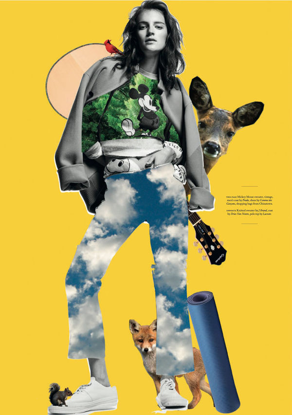 Conceptual Collage Editorials