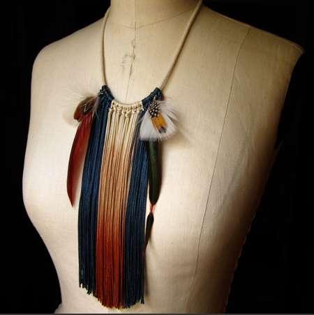 Fantastically Fringed Necklaces