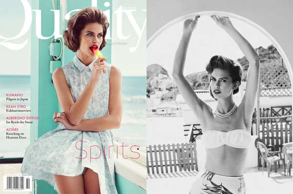 Retro Resort Editorials