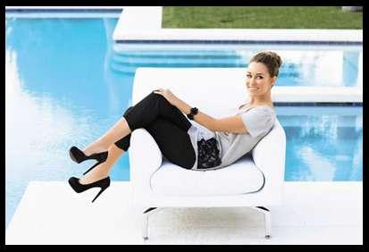Flirty Poolside Fashion