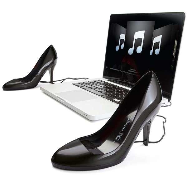 Stylish High Heel Speakers