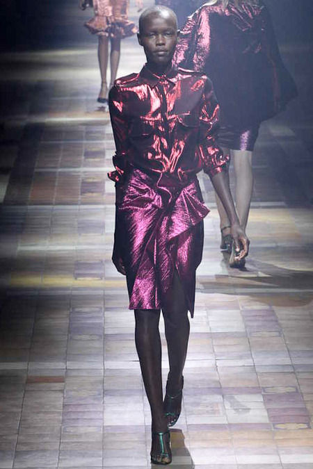 Shimmery Gift-Wrapped Fashion