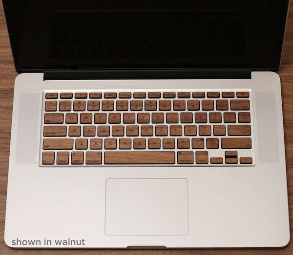 Wooden Keyboard Skins