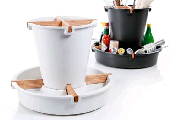 Spinning Kitchen Caddies