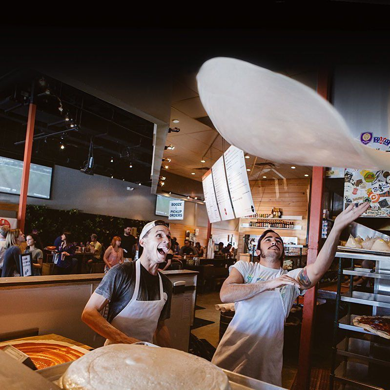 Rollicking Pizza Shops