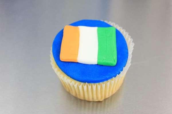 Euro Cup Cupcakes