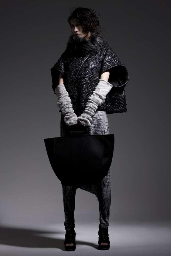 Layered Grayscale Fashion