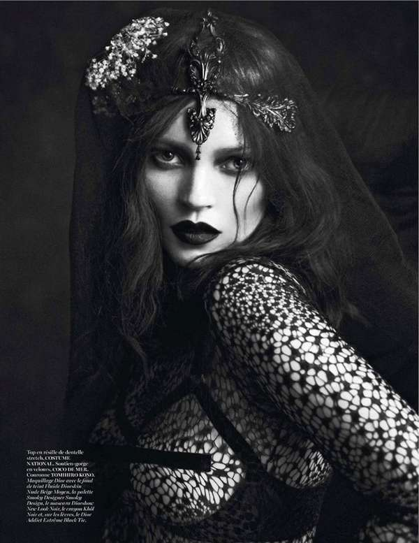 Le Noir Partie 3 by Mert & Marcus for Vogue Paris