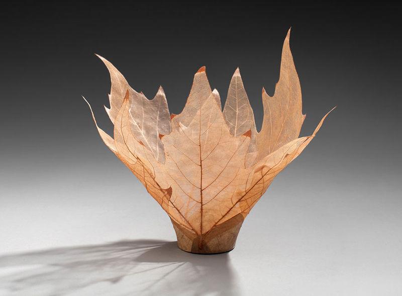 Delicate Leaf Bowls