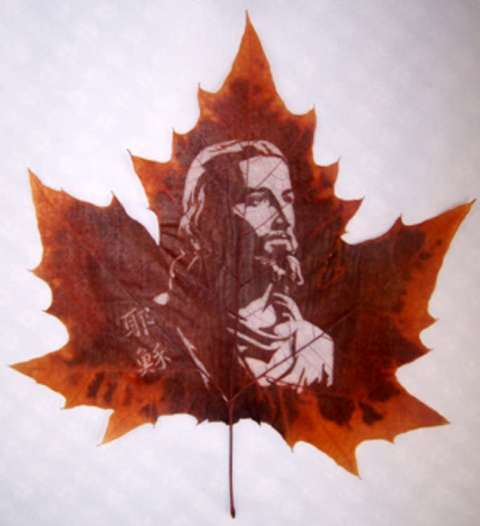 Leafy Portraits