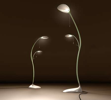 Jungle Plant Lights The Leaf Lamp Brings A Touch Of Mother Nature Into The Home