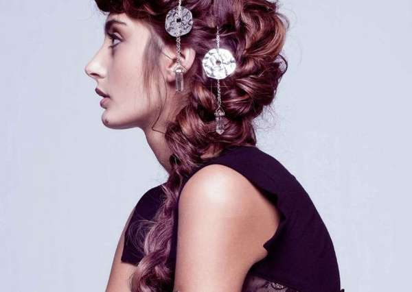 Accessorized Hair Editorials