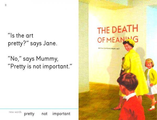Modern Art Mocking Books